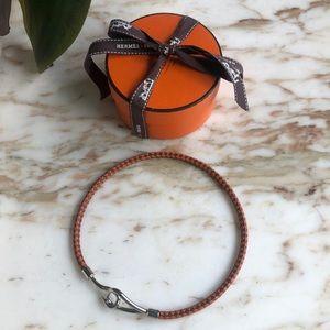 Hermès choker/doublewrap bracelet